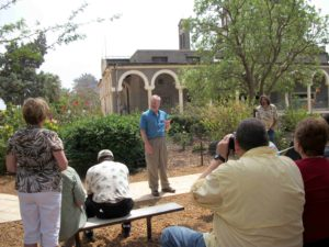 """Telling """"The Sermon on the Mount"""" on the Mount of Beatitudes, Israel"""